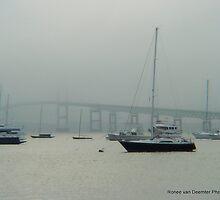Bridges in Newport, RI by Ronee van Deemter