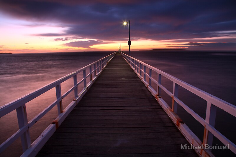 Point Lonsdale Australia  City new picture : Pre Dawn Greets Point Lonsdale Pier, Australia