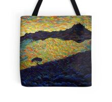 City on a hill Tote Bag
