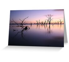 Lake Victoria Pre-Dawn, Australia Greeting Card