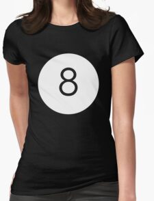 Black Ball Womens Fitted T-Shirt