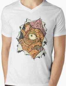 The Dalek inside Me Mens V-Neck T-Shirt