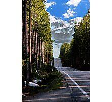 Road to Tetons Photographic Print