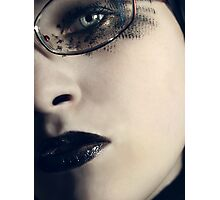 Geeky Goth Photographic Print