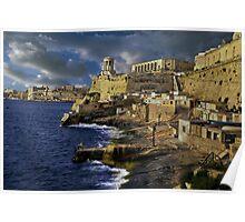 Bell Tower Valletta Malta Poster