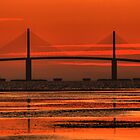 Sunshine Skyway Bridge Sunrise by sailorsedge