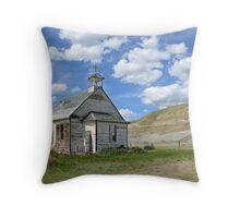 A Country Church Throw Pillow