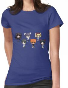 Fruits Basket Chibi Anime Womens Fitted T-Shirt
