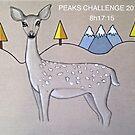 Deer three peaks by Gay Henderson