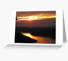 Brentwood Bay from the Malahat 2 Greeting Card