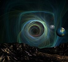 Black Hole Bound by Sazzart