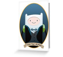Finn The Gentleman Greeting Card