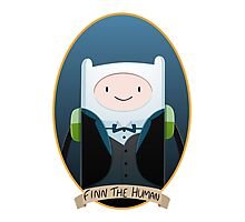 Finn The Gentleman Photographic Print