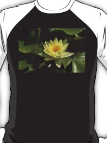 Waterlily in Yellow T-Shirt