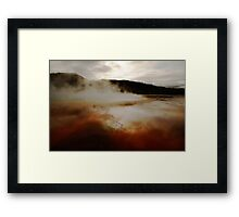 Other Planet Framed Print