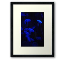 Painfuly Silent Framed Print