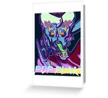 Pop Punk Alien  Greeting Card