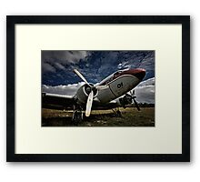 The Old DC-3 Framed Print