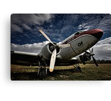 The Old DC-3 Canvas Print