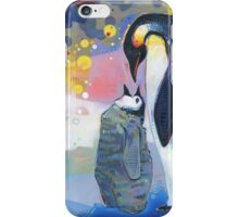 Emperor penguins iPhone Case/Skin