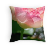 Lotus Sparkle Throw Pillow