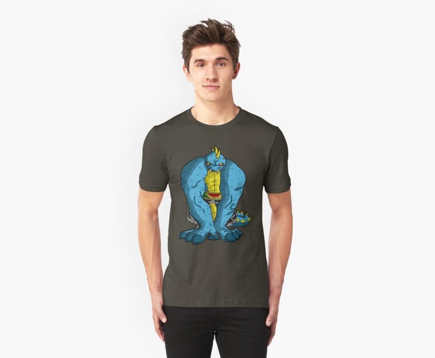 the lizard... by kangarookid