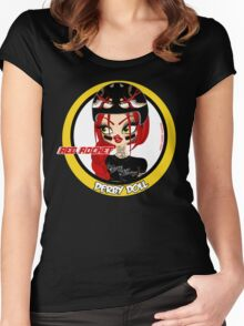 Red Rocket Derby Doll Women's Fitted Scoop T-Shirt