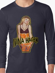 Nina Hagen - New York NY Long Sleeve T-Shirt