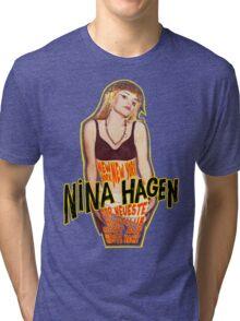 Nina Hagen - New York NY Tri-blend T-Shirt
