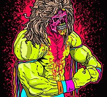 Zombie Ultimate Warrior by WhoDunIT