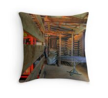 Old Gular Station Woolshed 001 Throw Pillow