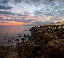 Wellington Point - Sunrise by Brad Walker