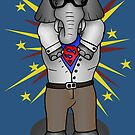 super elephant by Octochimp Designs
