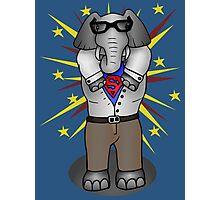 super elephant Photographic Print