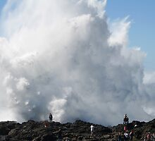 Kiama Blowhole by ozthunder