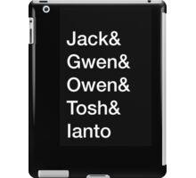 Torchwood Team - Minimalist iPad Case/Skin