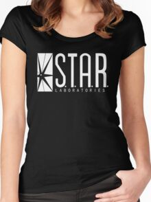 STAR LABS - T-Shirt & Hoodie Women's Fitted Scoop T-Shirt
