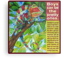Up on the catwalk (Panther chameleon) Metal Print