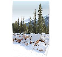 Autumn in The Rockies Poster