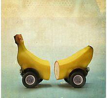 Banana Splitmobile Photographic Print