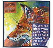 Outfox (Red fox) Poster