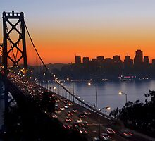 Sunset Over San Francisco by MattGranz