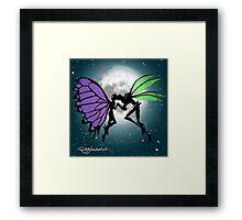 Butterfly Bog Framed Print