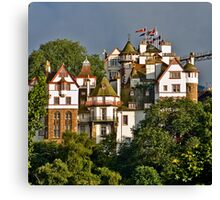 Ramsay Gardens, Edinburgh, Scotland Canvas Print