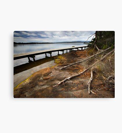 Merimbula Boardwalk Canvas Print