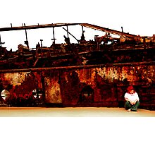 I still live by the wreck of us Photographic Print