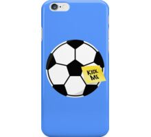 """Kick Me""  iPhone Case/Skin"
