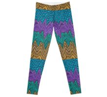 Zig Zag Mountains Leggings
