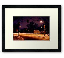 Jubilee Ave Framed Print