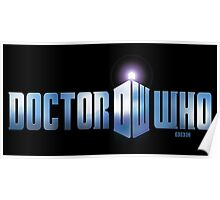 Doctor Who logo Poster